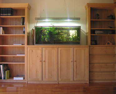 aquarium schrank buche natur. Black Bedroom Furniture Sets. Home Design Ideas